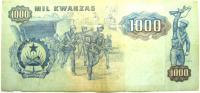 Бона 1000 Кванза 1987 год.
